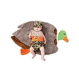 Size 0-3M Swaddle Wings Duck Hunter Baby Halloween Costume