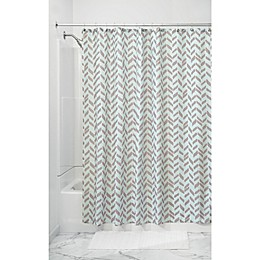 InterDesign® Nora Shower Curtain in Taupe