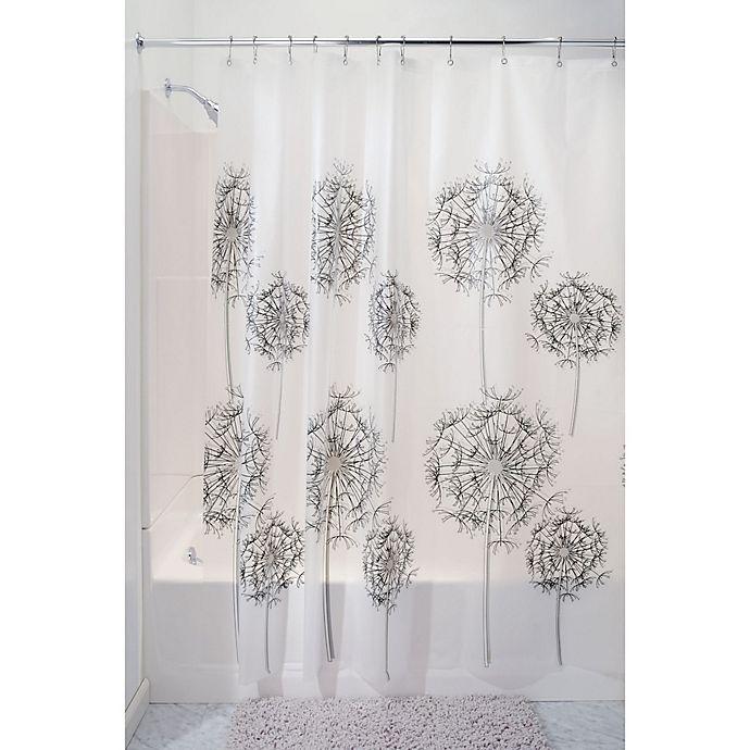Alternate image 1 for InterDesign® Allium PEVA Shower Curtain in Frost