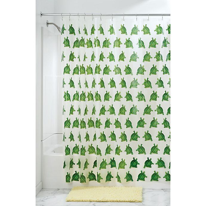 Alternate image 1 for InterDesign® Turtle PEVA Shower Curtain