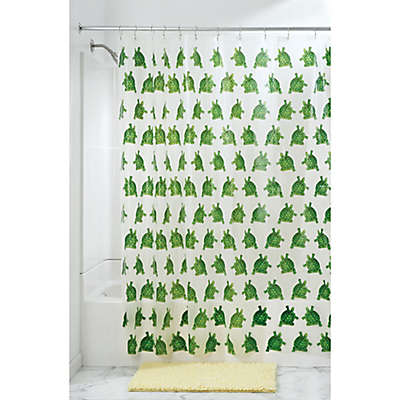 InterDesign® Turtle PEVA Shower Curtain