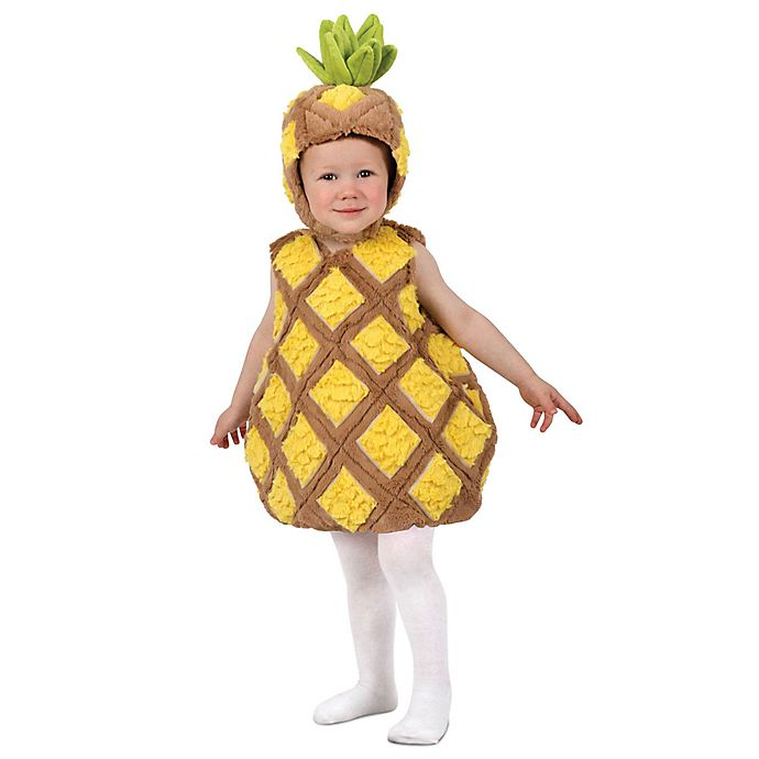 Alternate image 1 for Tropical Pineapple Toddler Halloween Costume