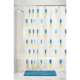 InterDesign® Pineapple PEVA Shower Curtain