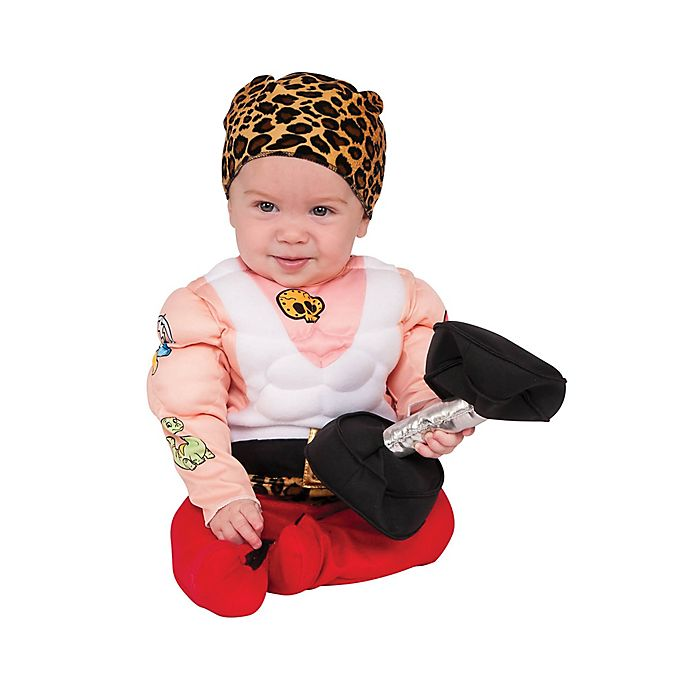 Alternate image 1 for Muscleman Baby Halloween Costume