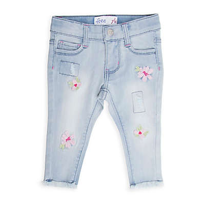 Freestyle Revolution Flower Patch Skinny Jeans