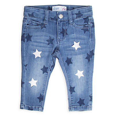 Freestyle Revolution Star Print Jeans