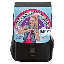 "JoJo Siwa™ ""Dream Crazy Big"" Flap Backpack in Black"