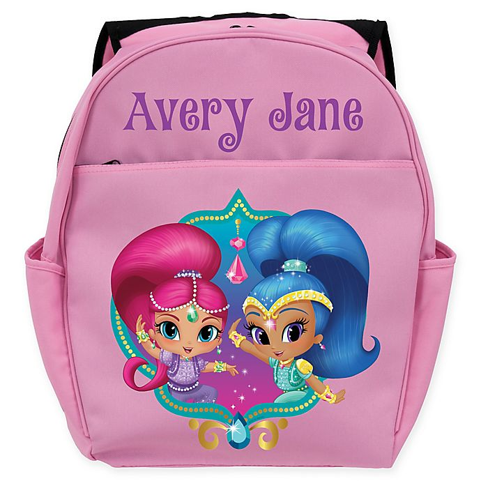 Alternate image 1 for Shimmer and Shine™ Twinsies Toddler Backpack in Pink