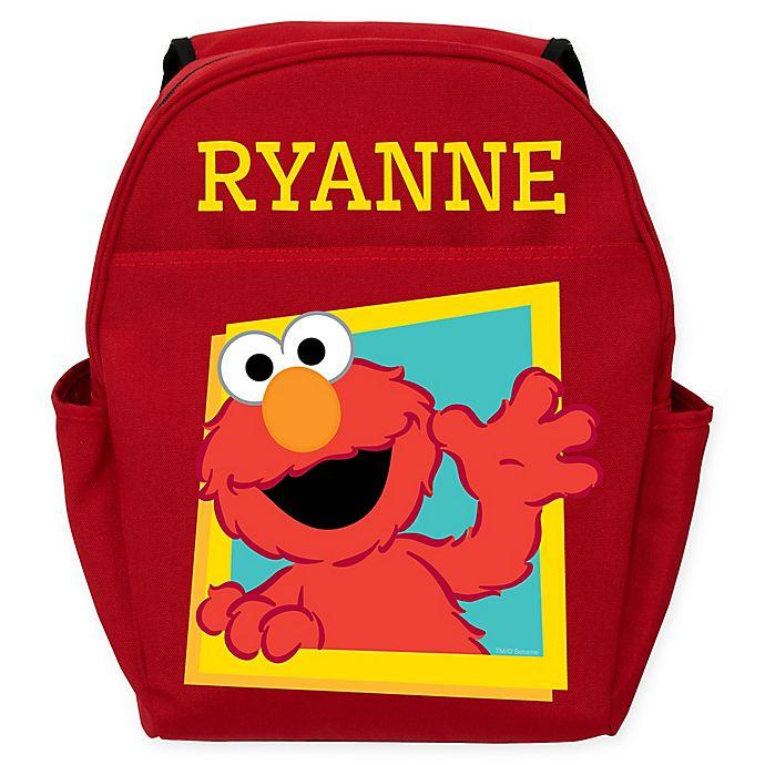 Alternate image 1 for Sesame Street® Hello Elmo Toddler Backpack in Red