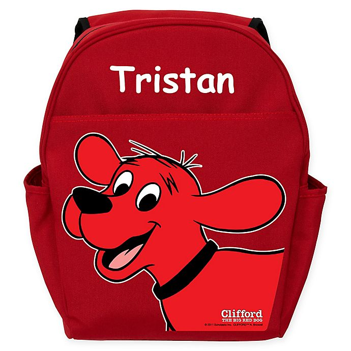 Alternate image 1 for Clifford The Big Red Dog Toddler Backpack in Red