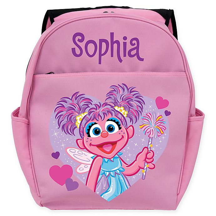 Alternate image 1 for Sesame Street® Abby Cadabby Backpack in Pink