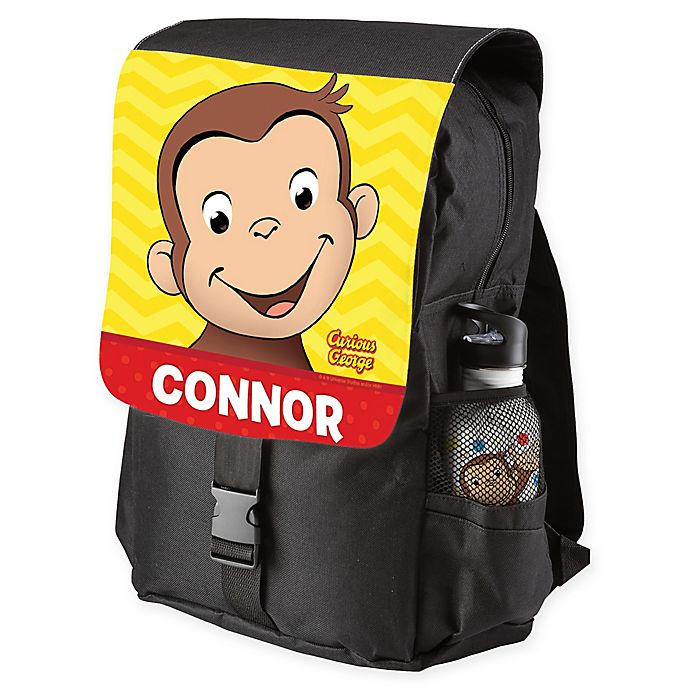 Alternate image 1 for Curious George® Happy Monkey Backpack in Yellow