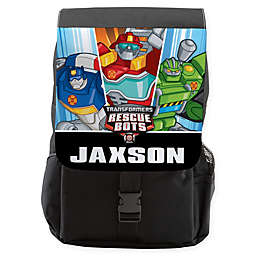 Transformers Rescue Bots Backpack in Black