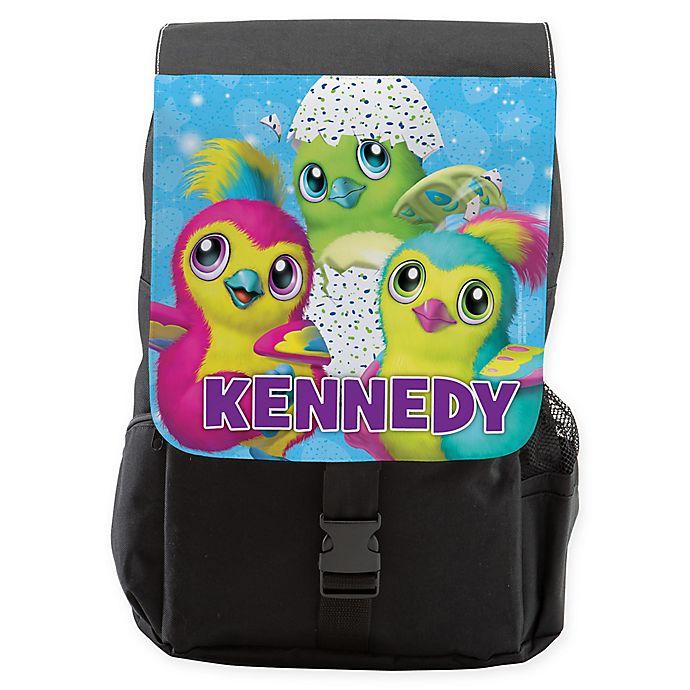 Alternate image 1 for Hatchimals Toddler Backpack in Black