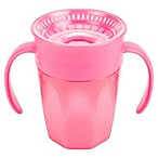 Dr. Brown's® Milestones Cheers360 7 fl. oz. Transition Cup with Handles in Pink