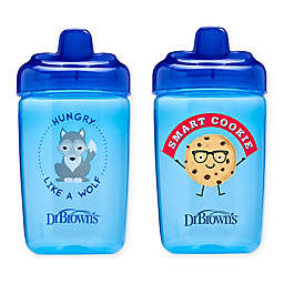Dr. Brown's® Milestones™ 2-Pack 12 oz. Hard Spout Sippy Cups