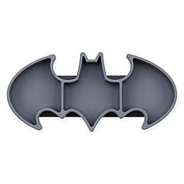 Bumkins® DC Comics™ Batman Silicone Grip Dish in Black