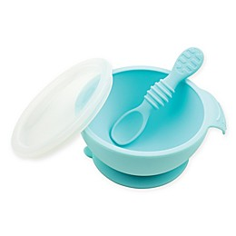 Bumkins® Silicone First Feeding Set with Lid & Spoon
