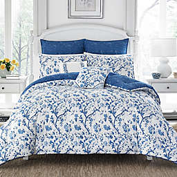 Laura Ashley® Elise China Duvet Cover Set