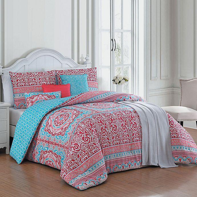 Alternate image 1 for Avondale Manor Cass Reversible Comforter Set
