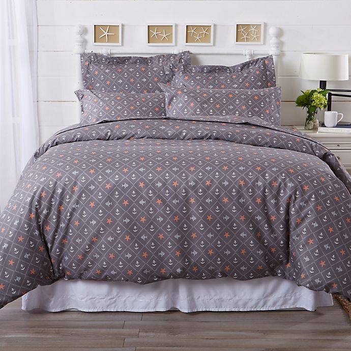 Great Bay Home St Croix Coastal Duvet Cover Set Bed Bath Beyond