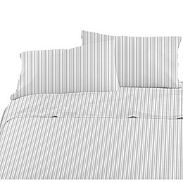 American Kids Ticking Stripe Sheet Set