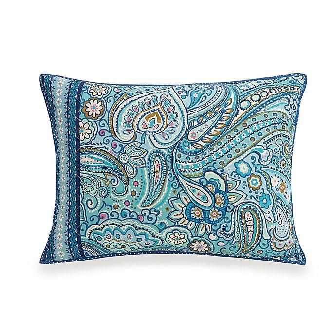 Alternate image 1 for Vera Bradley® Daisy Dot Paisley Pillow Sham