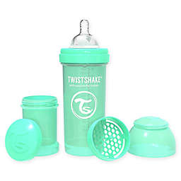 Twistshake® Plastic Wide-Neck Anti-Colic Baby Bottle in Green