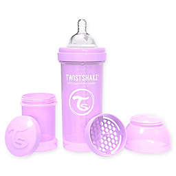 Twistshake® Plastic Wide-Neck Anti-Colic Baby Bottle in Purple