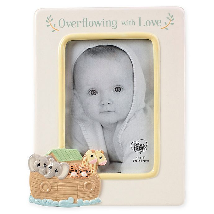 Alternate image 1 for Precious Moments® Noah's Ark 4-Inch x 6-Inch Picture Frame
