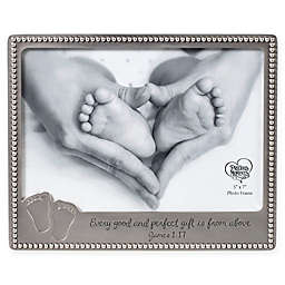 Precious Moments® Baby Footprints 6-Inch x 7.5-Inch Photo Frame