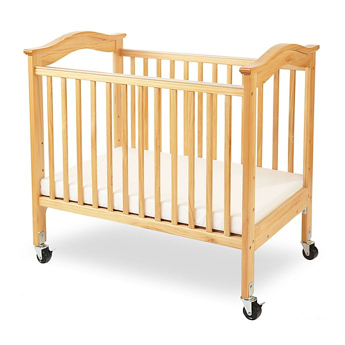 La Baby 174 Berkshire Portable Crib With Clear Panels In