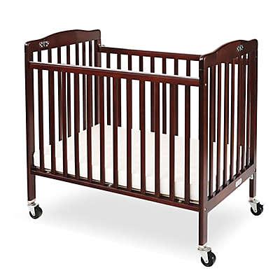 LA Baby® Pocket Crib Mini Portable Folding Crib in Cherry