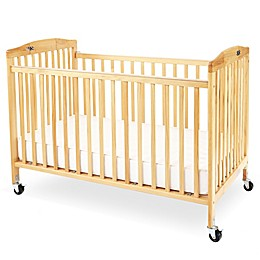 LA Baby® Pocket Crib Portable Folding Crib in Natural