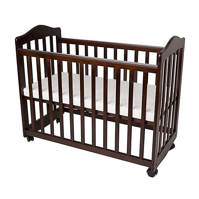 Alternate image 1 for LA Baby® The Original Bedside Manor Mini Crib in Cherry