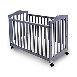 LA Baby® The Original Bedside Manor Convertible Crib in Grey