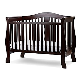 LA Baby® Avalon 4-in-1 Convertible Crib in Cherry