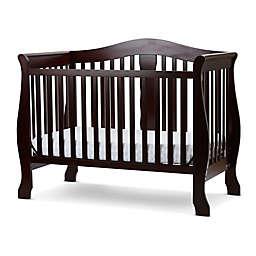 LA Baby® Avalon 4-in-1 Convertible Crib in Cherry