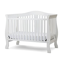 LA Baby® Avalon 4-in-1 Convertible Crib in White