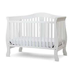LA Baby® Avalon 4-in-1 Convertible Crib in White