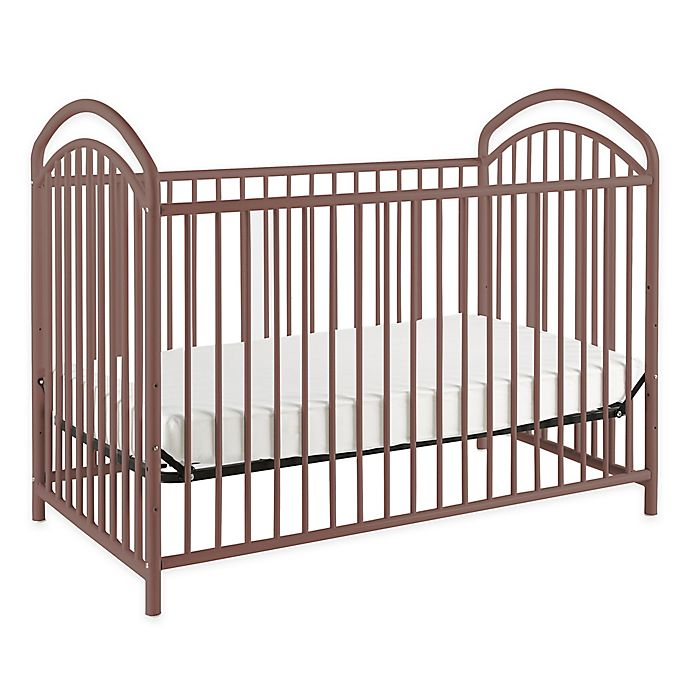 Alternate image 1 for LA Baby® Mariposa 3-in-1 Convertible Crib in Chocolate