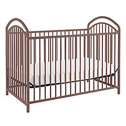 LA Baby® Mariposa 3-in-1 Convertible Crib in Chocolate