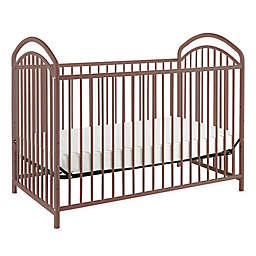 LA Baby® Mariposa 3-in-1 Convertible Crib in Chocolate
