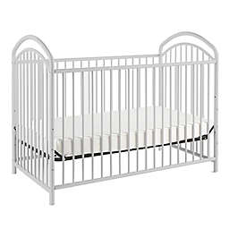 LA Baby® Mariposa 3-in-1 Convertible Crib in White