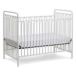 LA Baby® Trinity 3-in-1 Convertible Crib in Alabaster