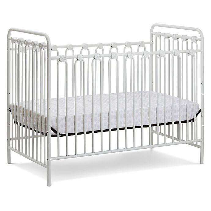 Alternate image 1 for LA Baby® Napa 3-in-1 Convertible Crib in Alabaster