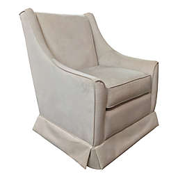 The 1st Chair™ Darcy Swivel Glider Chair in Sandy Shore
