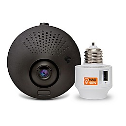 Toucan Outdoor Wi-Fi Security Camera in Black