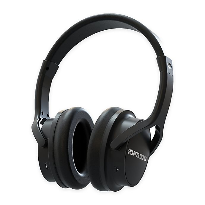 Sharper Image Own Zone Wireless Tv Headphones In Black Bed Bath