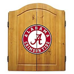 University of Alabama Dartboard Cabinet